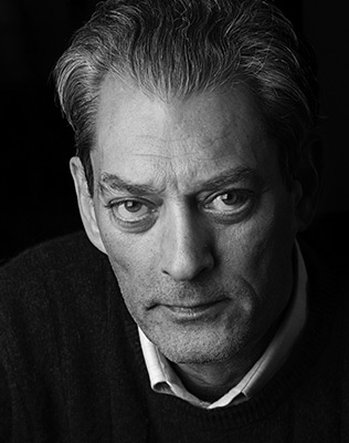 Paul Auster, author of 4 3 2 1